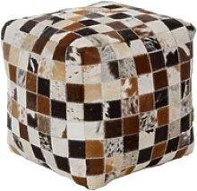 Casa Padrino Luxus Sitzwürfel Mehrfarbig 40 x 40