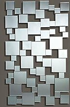 Casa Padrino Luxus Spiegel 85 x H. 141 cm - Designer Wohnzimmer Wandspiegel