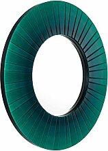 Casa Padrino Luxus Wandspiegel Grün Durchmesser