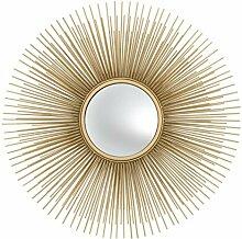 Casa Padrino Luxus Wohnzimmer Spiegel Gold -
