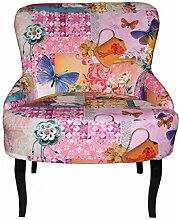 Casa Padrino Retro Salon Sessel Pfau -