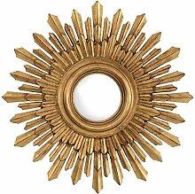 Casa Padrino Wohnzimmer Konvexspiegel Antik Gold