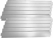 [casa.pro] Rasenkante Metall - 10 x 100cm -