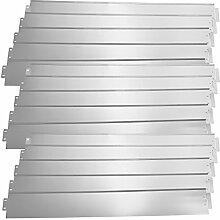 [casa.pro] Rasenkante Metall - 15 x 100cm -