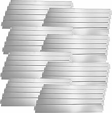 [casa.pro] Rasenkante Metall - 40 x 100cm -