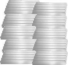 [casa.pro] Rasenkante Metall - 50 x 100cm -