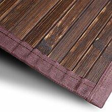 casa pura Bambusteppich Oak | für Bad und