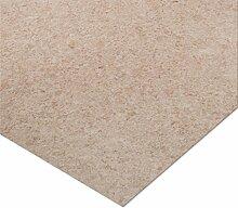 casa pura® CV Bodenbelag Celine | Beige | edle Steinoptik | Oberfläche strukturiert | Meterware (200x1500cm)