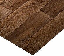casa pura® CV Bodenbelag Golden Oak | Eiche dunkel | edle Holzoptik | Oberfläche strukturiert | Meterware (200x250cm)