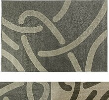 casa pura Design Teppich Curves | moderner