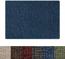 casa pura® Teppich mit gekästeltem Muster | GUT