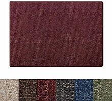 casa pura® Teppich mit gekästeltem Muster   GUT
