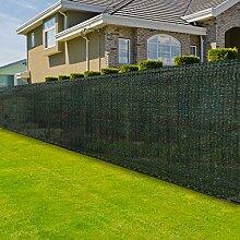 casa pura® Zaunblende | Höhe: 120 cm | effektiver Sichtschutz, Windschutz, Sonnenschutz | für Garten, Balkon, Sportplatz und Gelände | in 6 Größen erhältlich (1,2m x 15m)