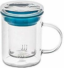 casa-vetro Teeglas All in One Safe Große Teetasse