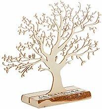 Casa Vivente Geldbaum aus Holz mit Gravur,