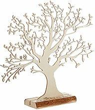 Casa Vivente Geldbaum aus Holz mit Gravur - Zur
