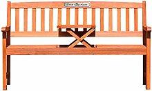 Casa Vivente – Holzbank mit Tisch –