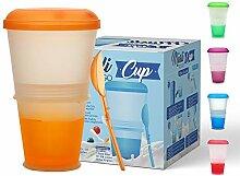CasaBasics Müsli to Go Becher mit Milch-Kühlfach