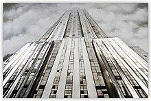 Casablanca 3D Ölbild Towermit Aluminium150x100