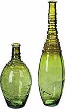 Casablanca Bodenvase Borneo grün/ Hl.grün H.100