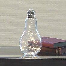 Casablanca Dekoleuchte Glühbirne Glas klar Lampe