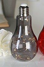 Casablanca - Dekoleuchte- Glühbirne - Glas -