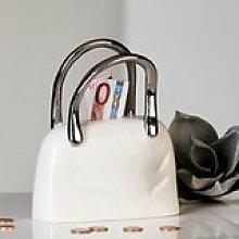 Casablanca Design Handtasche aus Keramik Geld