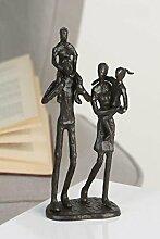 Casablanca - Design-Skulptur Family aus Eisen -