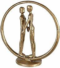 Casablanca - Design Skulptur-Forever-goldfarben