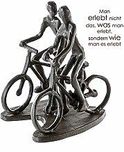 Casablanca - Design Skulptur Radtour Eisen brünier