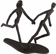 Casablanca - Design-Skulptur Running aus Eisen -
