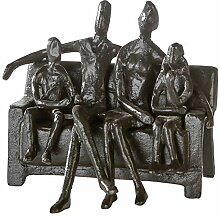 Casablanca - Design-Skulptur Sitting Family - aus