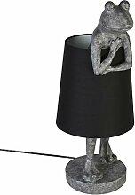 Casablanca Lampe Frosch Poly,ant.grau/schwarz