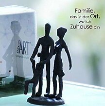 Casablanca - Mini-Design-Skulptur Eltern mit Kind