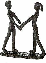 Casablanca Mini Design Skulptur Together Gußeisen