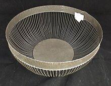 Casablanca Schale Tildra Grau Metall 54904