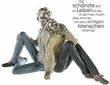 Casablanca - Skulptur Cosy Couple Poly