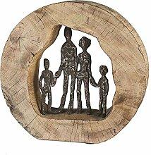 Casablanca - Skulptur - Dekofigur - Familie -