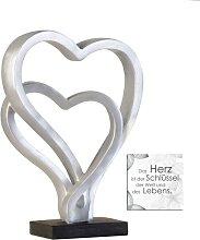 CASABLANCA Skulptur Dekofigur HEARTS