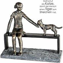 Casablanca - Skulptur - Dekofigur - Katzenliebe -