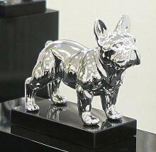 Casablanca - Skulptur, Figur - Bulldogge - Bulli -