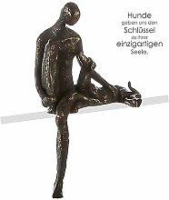 Casablanca - Skulptur/Kantensitzer Bester Freund