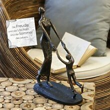 Casablanca - Skulptur Kindheit aus Poly -