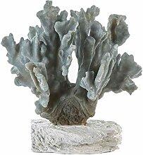 Casablanca - Skulptur Koralle Poly hellblau auf