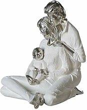 Casablanca - Skulptur Nachwuchs - Pärchen mit