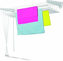 Casabriko Wäscheständer für Wand und Decke 120