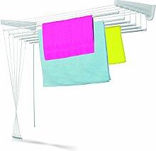 Casabriko Wäscheständer für Wand und Decke 160