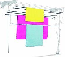 Casabriko Wäscheständer für Wand und Decke
