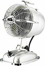 CasaFan Tisch-Ventilator RetroJet-SIL, 3 Stufen 1350U/min, silber, 301503