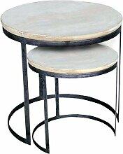 casamia Couchtisch 2er Set Wohnzimmer-Tisch-Set